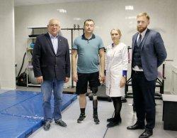 Воронежцу с производственной травмой установили «умный» протез за 2,5 млн рублей